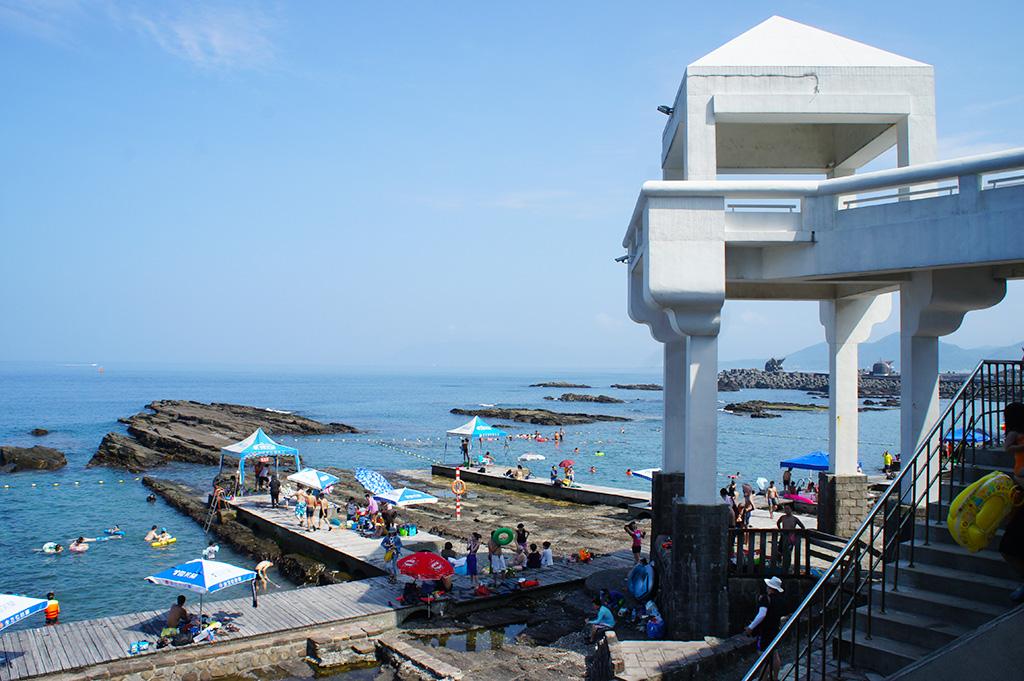 龍洞南口海洋公園の景色