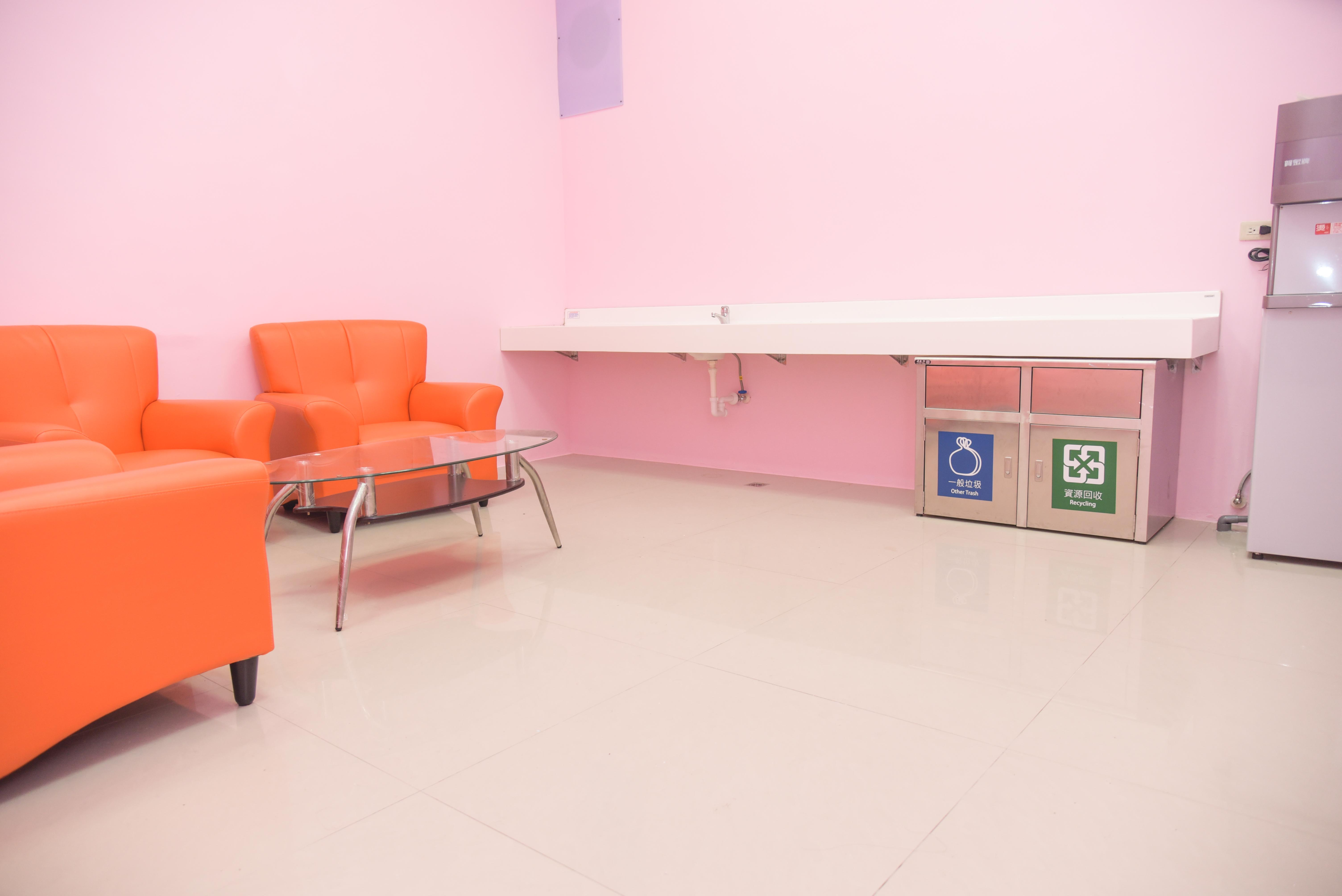 授乳室の内部
