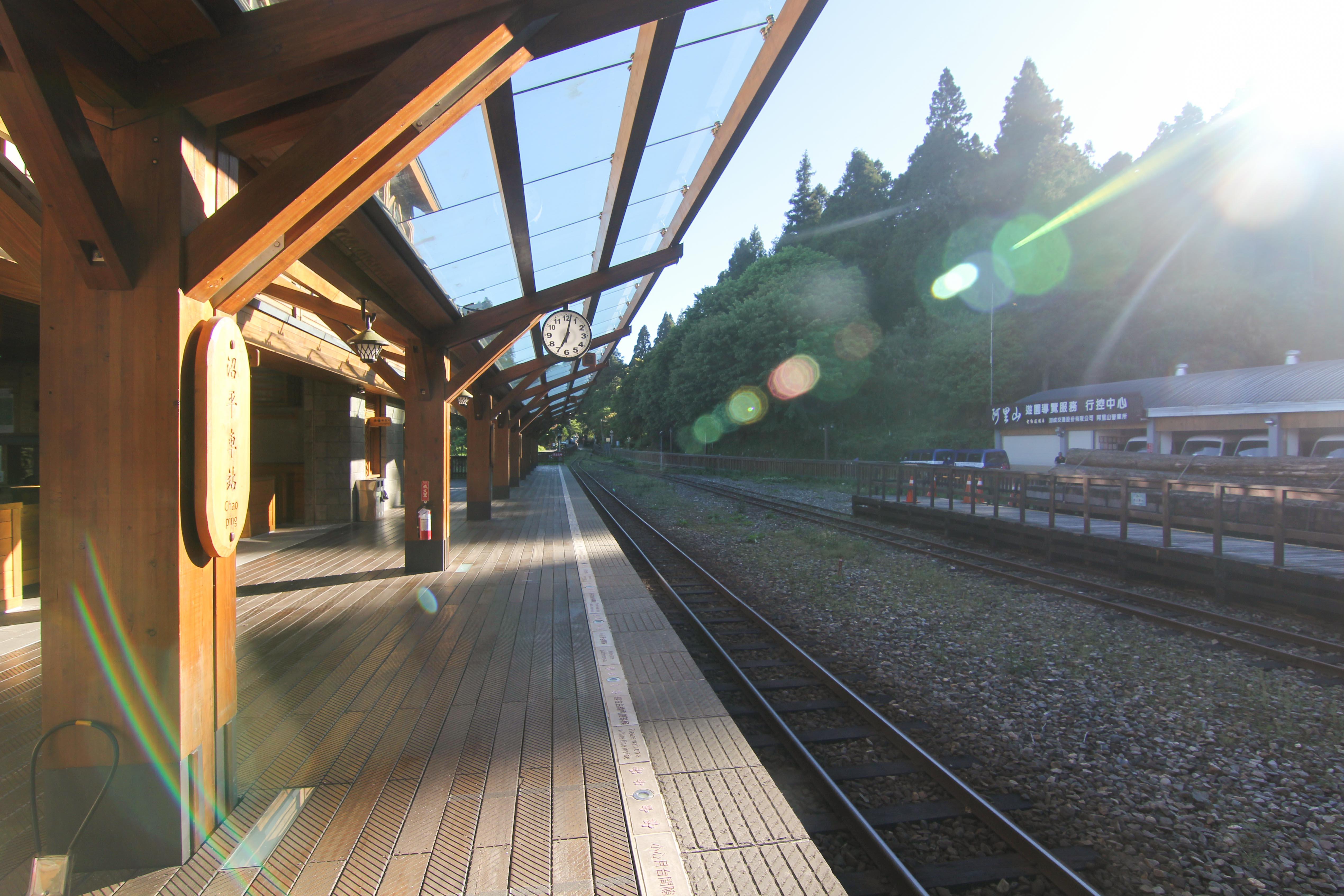 沼平駅のホーム