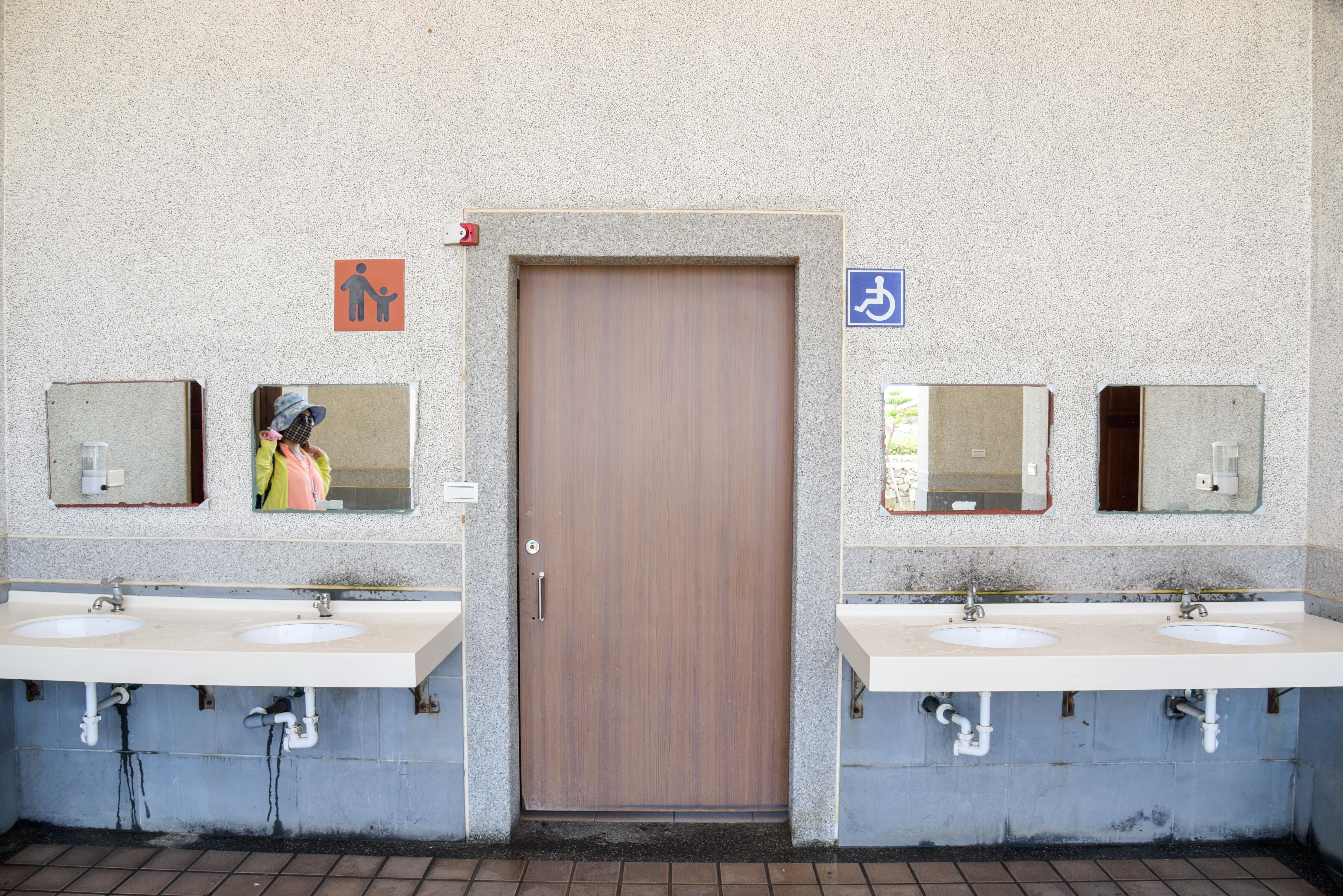 車いす対応トイレの外観