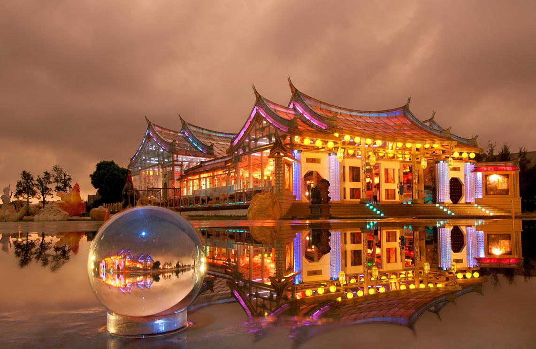 ガラス媽祖廟-台湾護聖宮