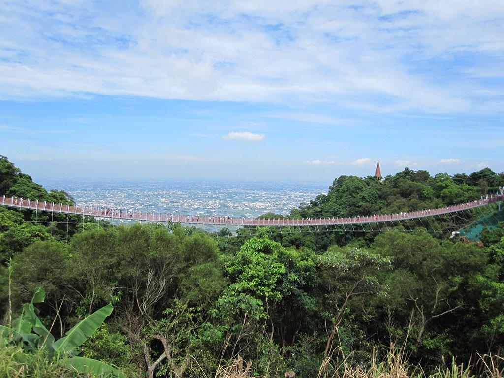 猴探井風景区-天空の橋