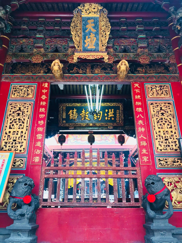 台南天壇の正殿