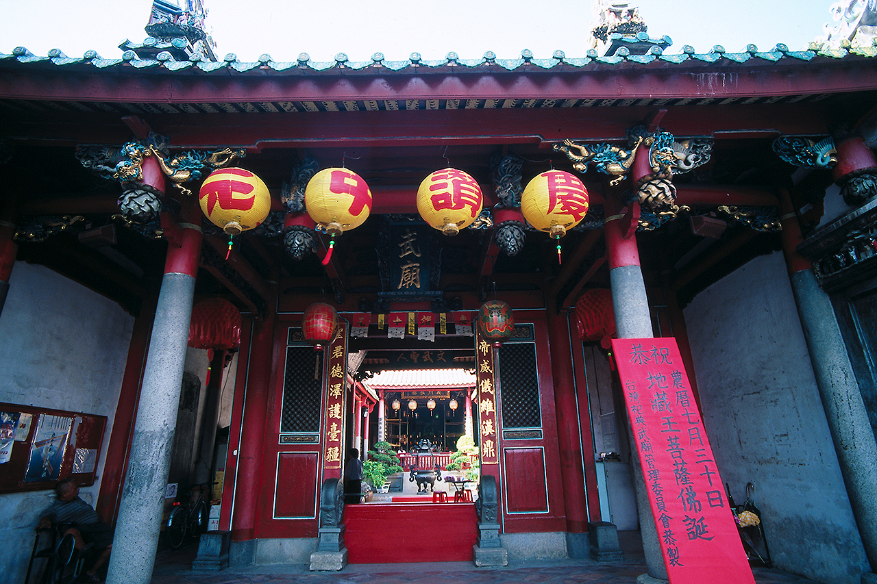祀典武廟は関帝廟とも称されます。