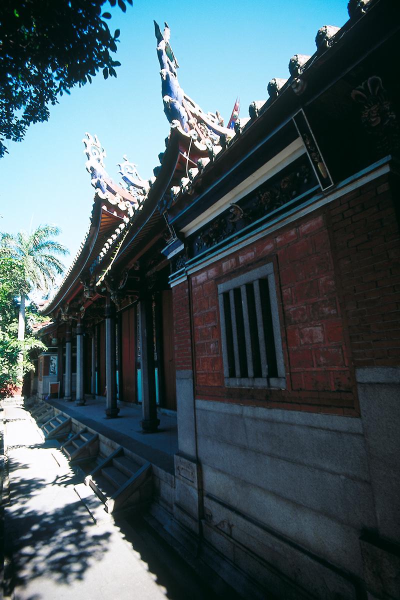 台北孔廟の景色