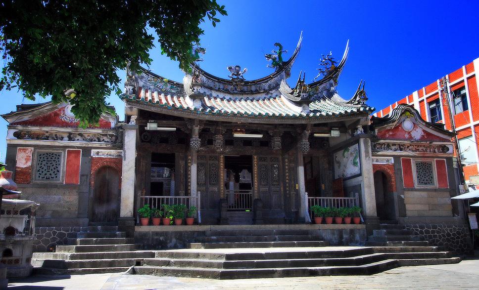 澎湖天后宮は台湾でもっとも古い媽祖廟です