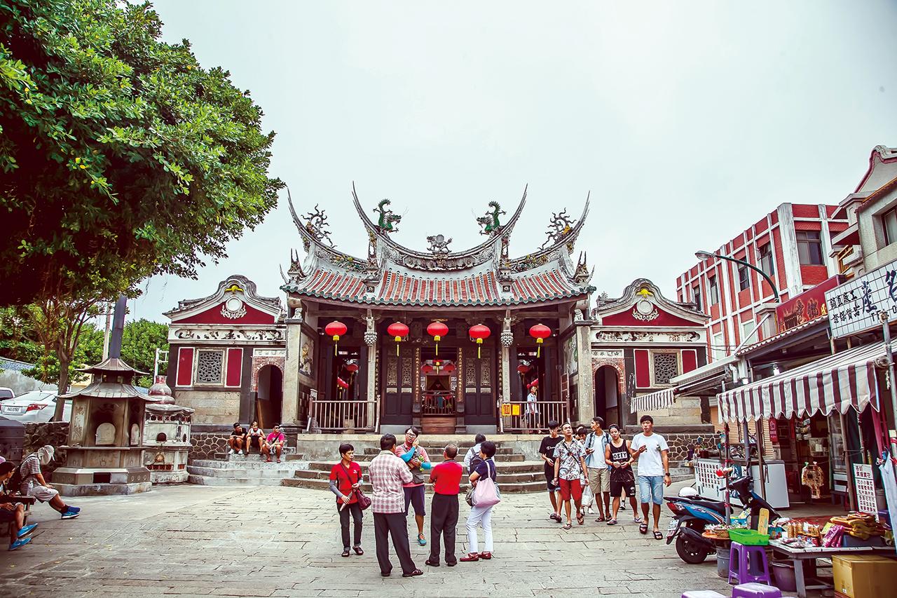 台湾でもっとも古い媽祖廟