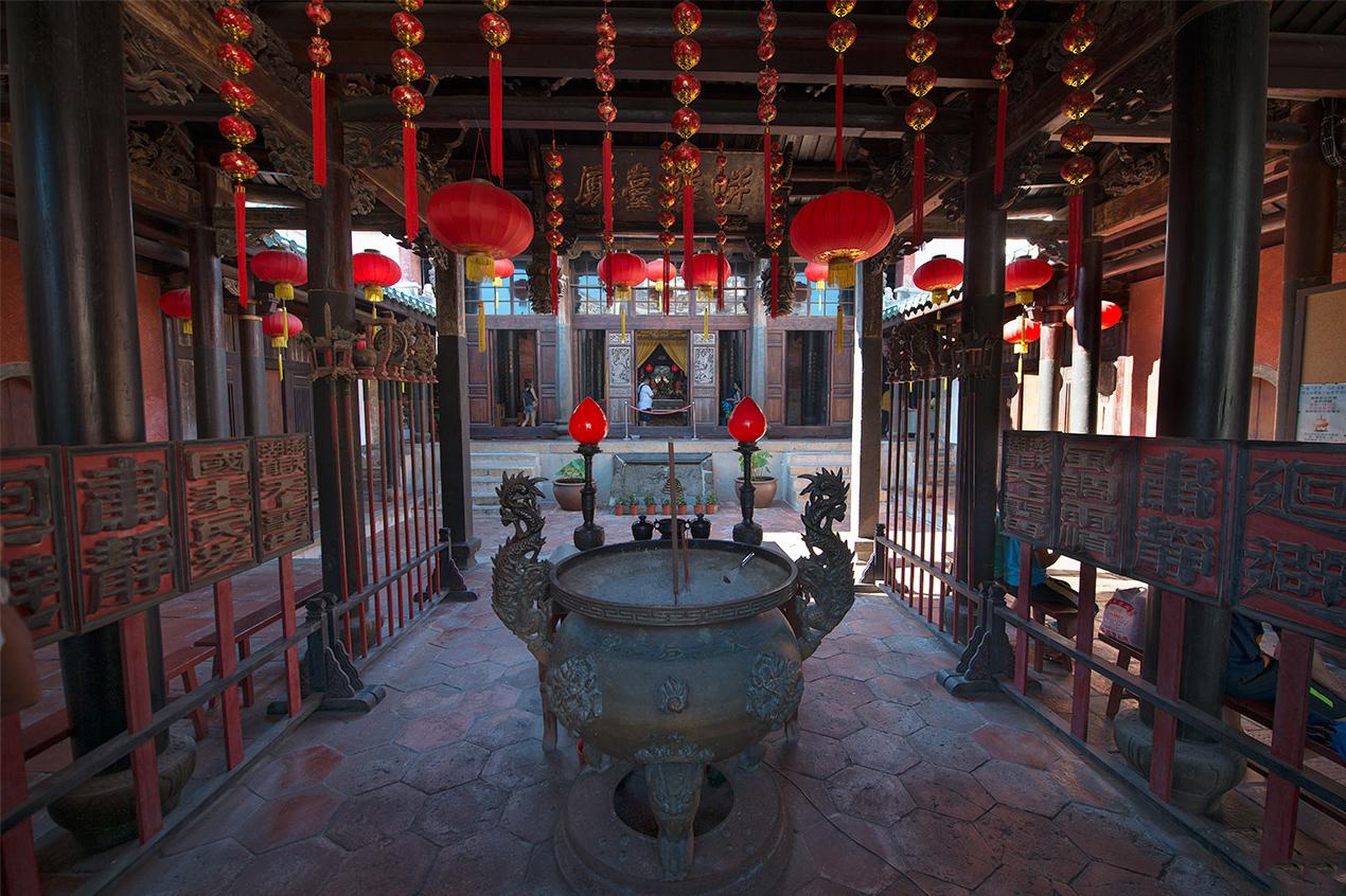 澎湖天后宮の内部