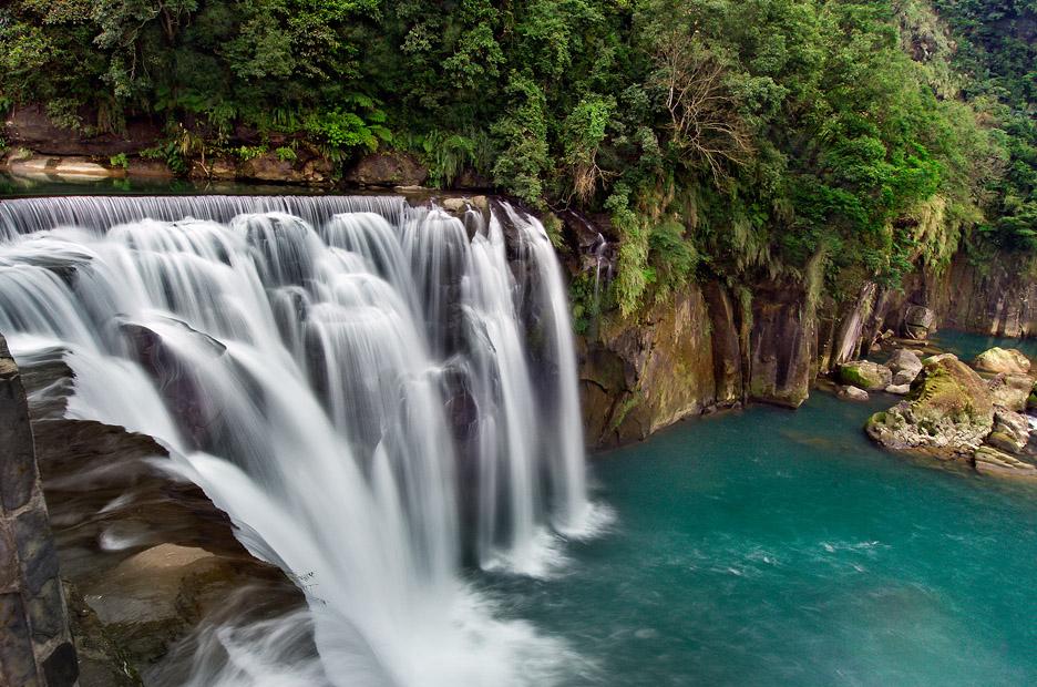十分瀑布の風景