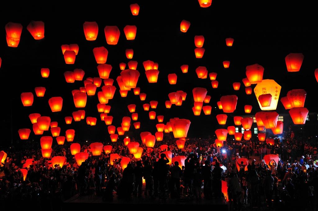 平溪の天灯祭り