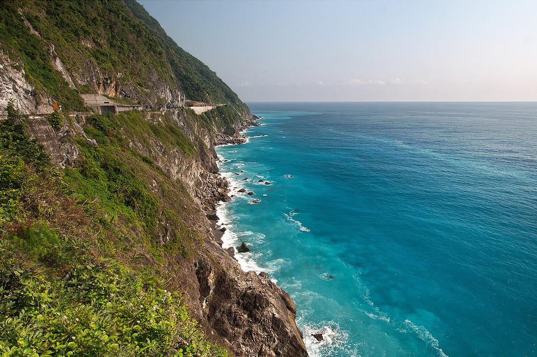 清水断崖の風景