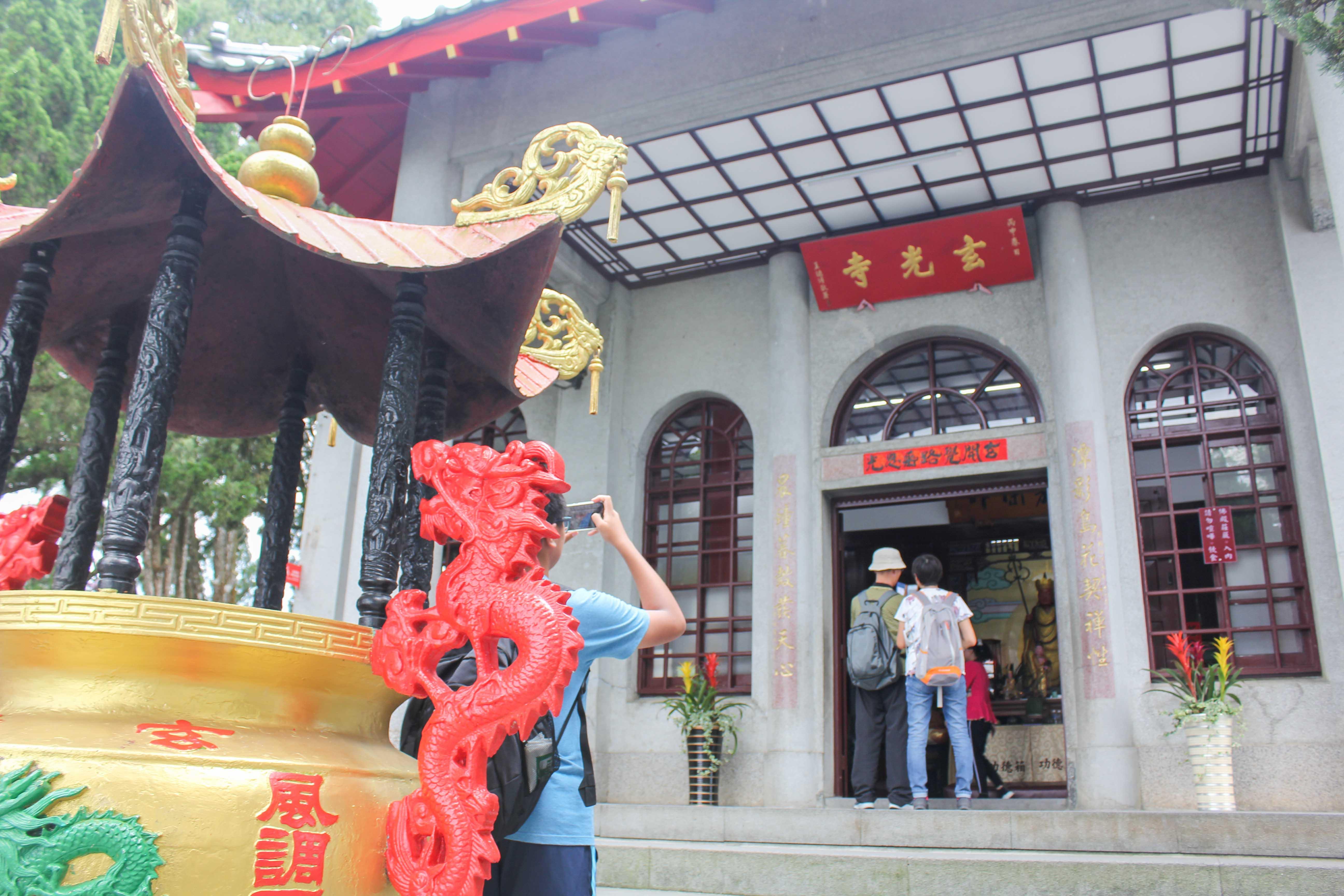 玄光寺の入口