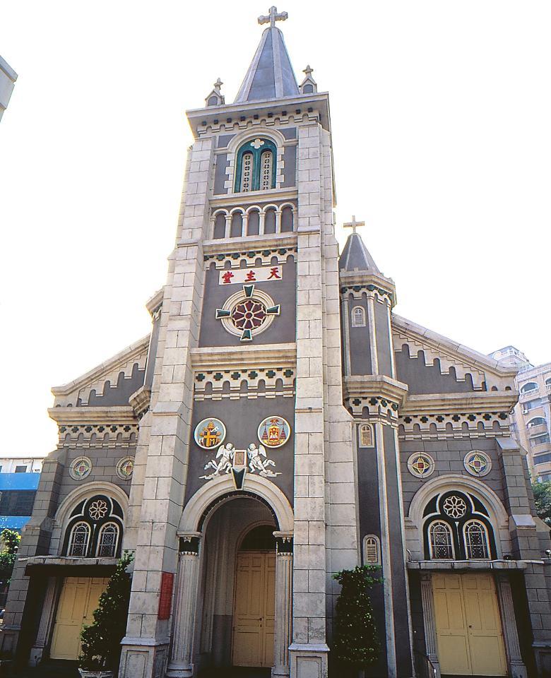 天主教ロザリオ聖堂の外観