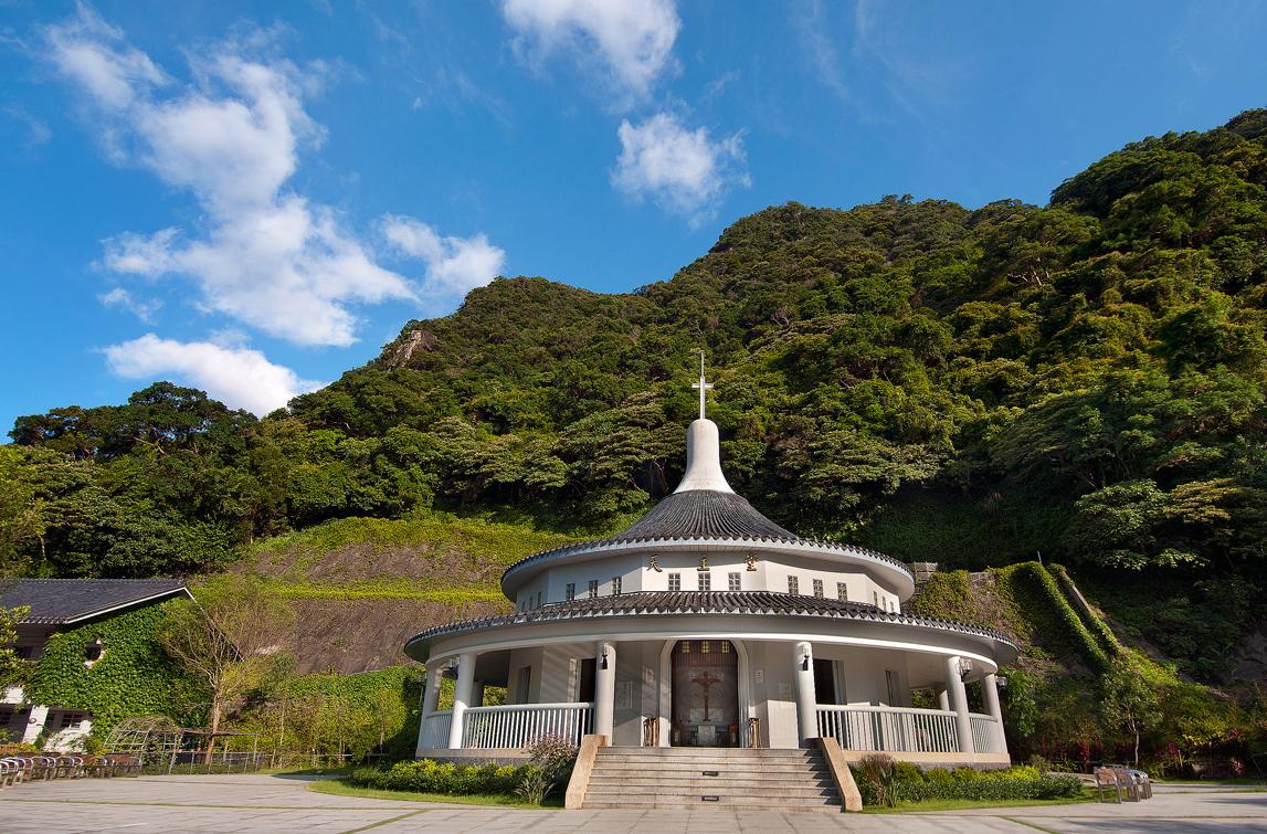 五峰旗聖母朝聖地カトリック教会