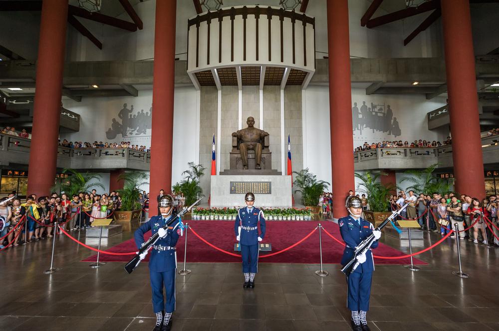 国立国父紀念館の礼兵