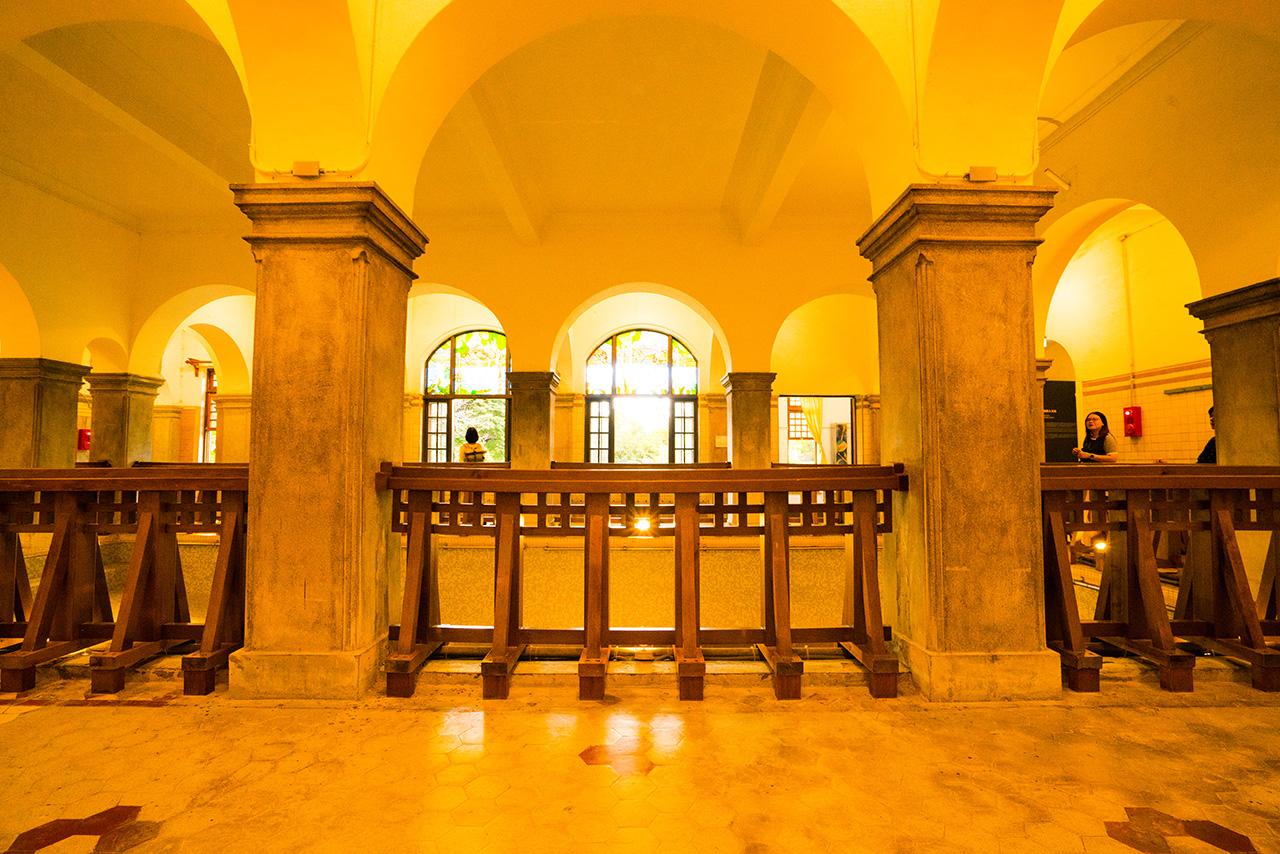 北投温泉博物館大浴場