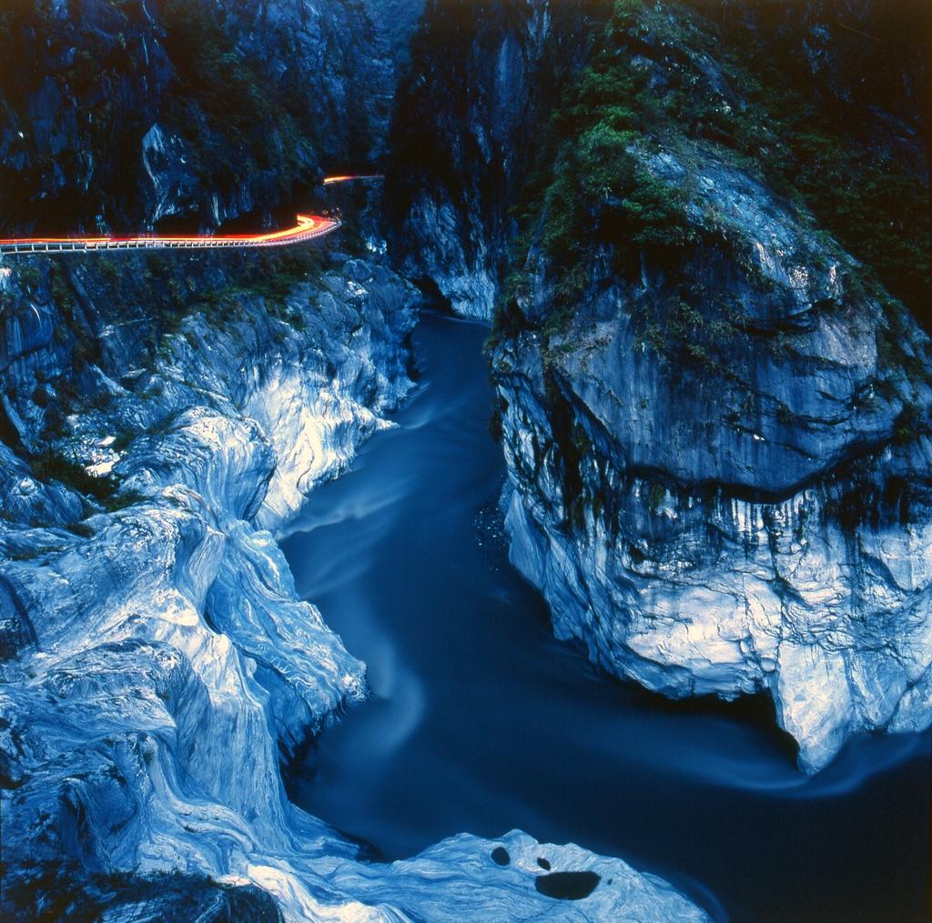 峡谷の景色