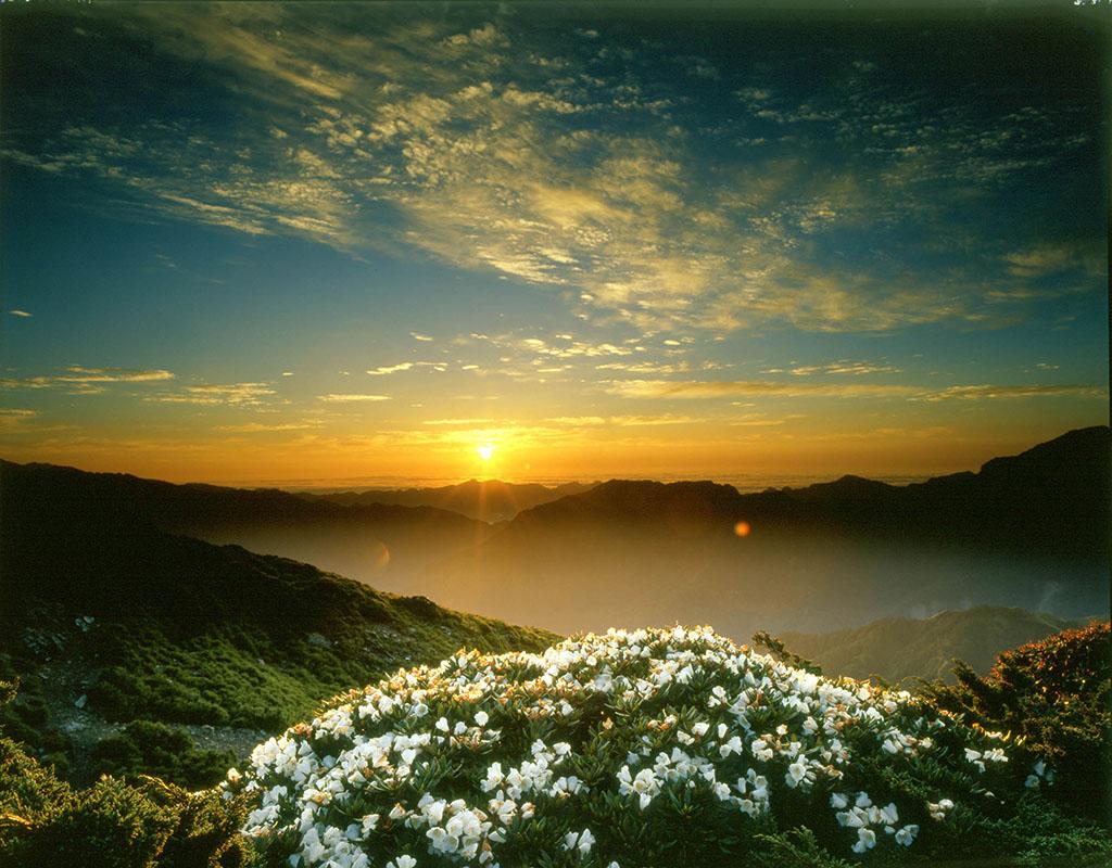 合歓山の朝