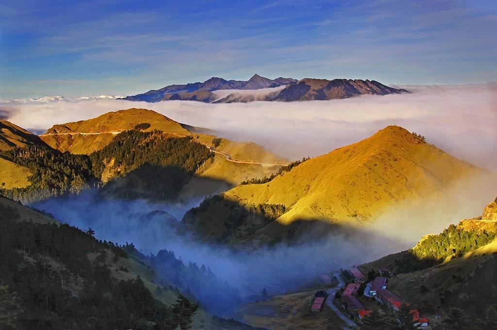 合歓山の美景