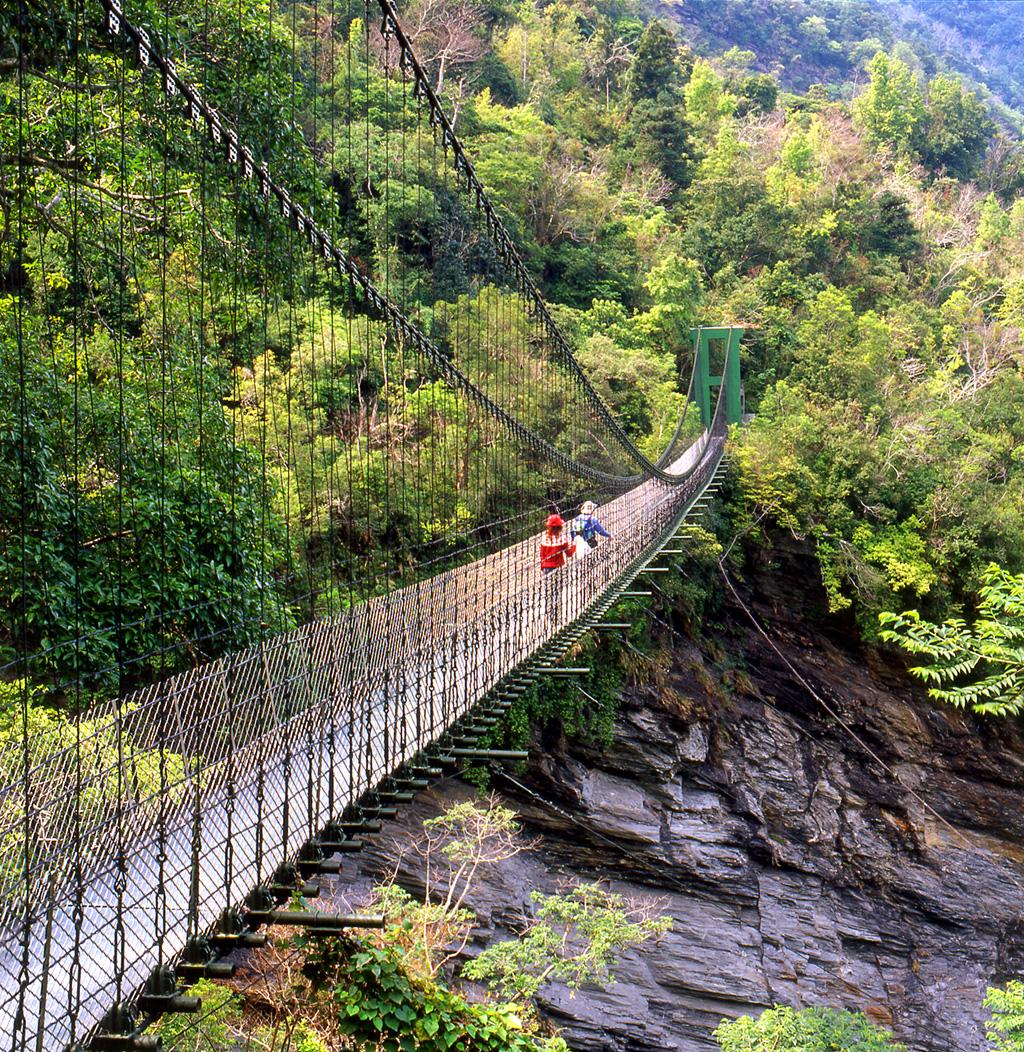 山風一号吊り橋