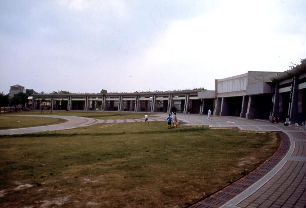 台中都会公園旅客センター