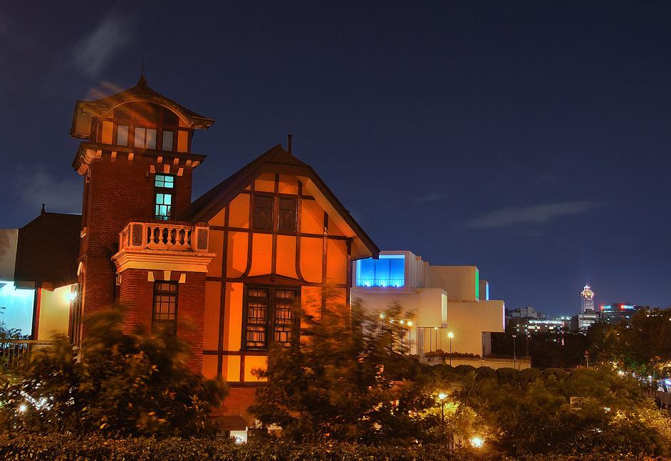 台北故事館の夜景