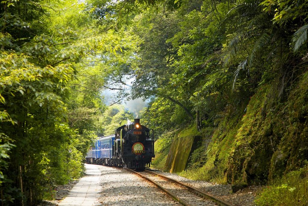 平渓線-CK124蒸気機関車
