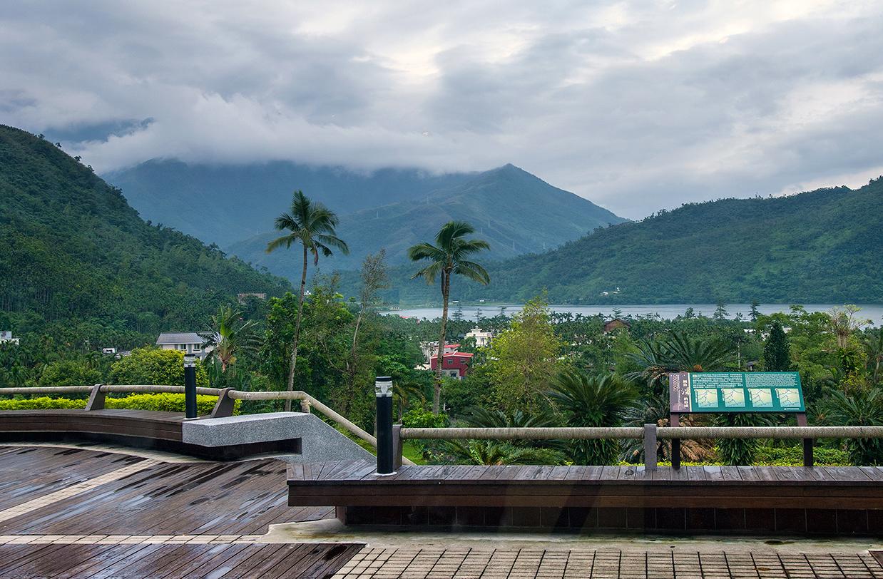 池南国家森林遊楽区の風景