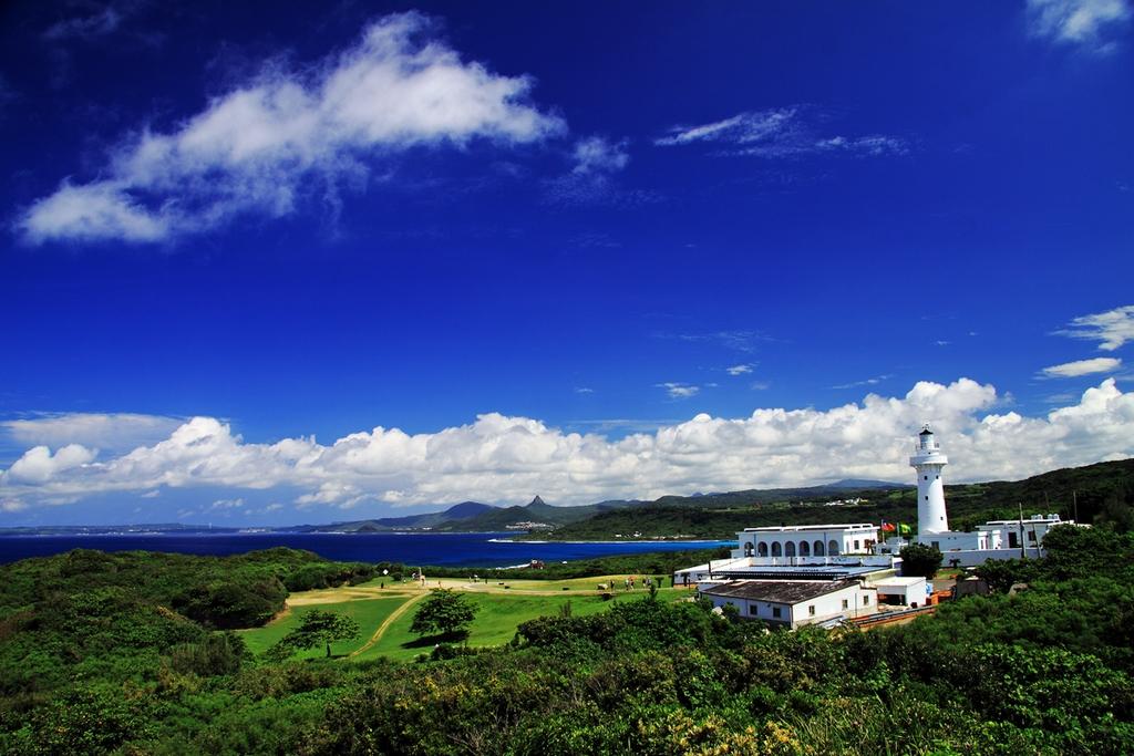 鵝鑾鼻灯台を眺める