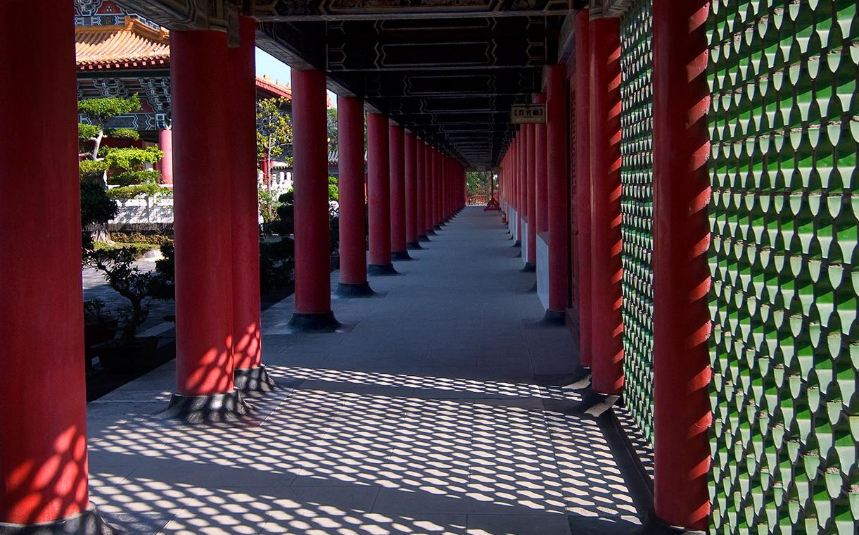 高雄孔子廟の景色