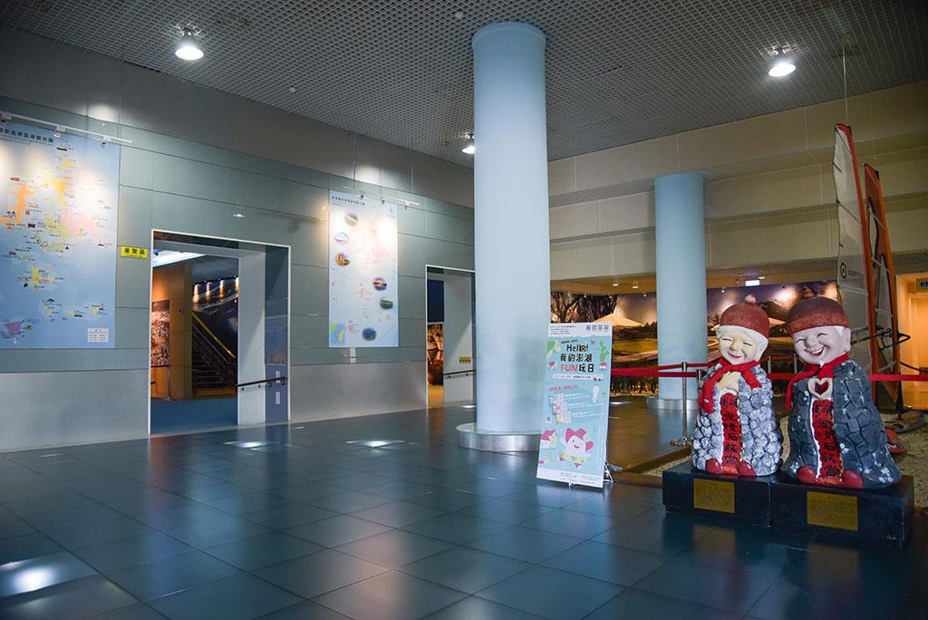 ツーリストセンターの展示コーナー