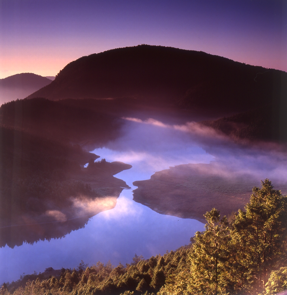 翠峰湖の景色