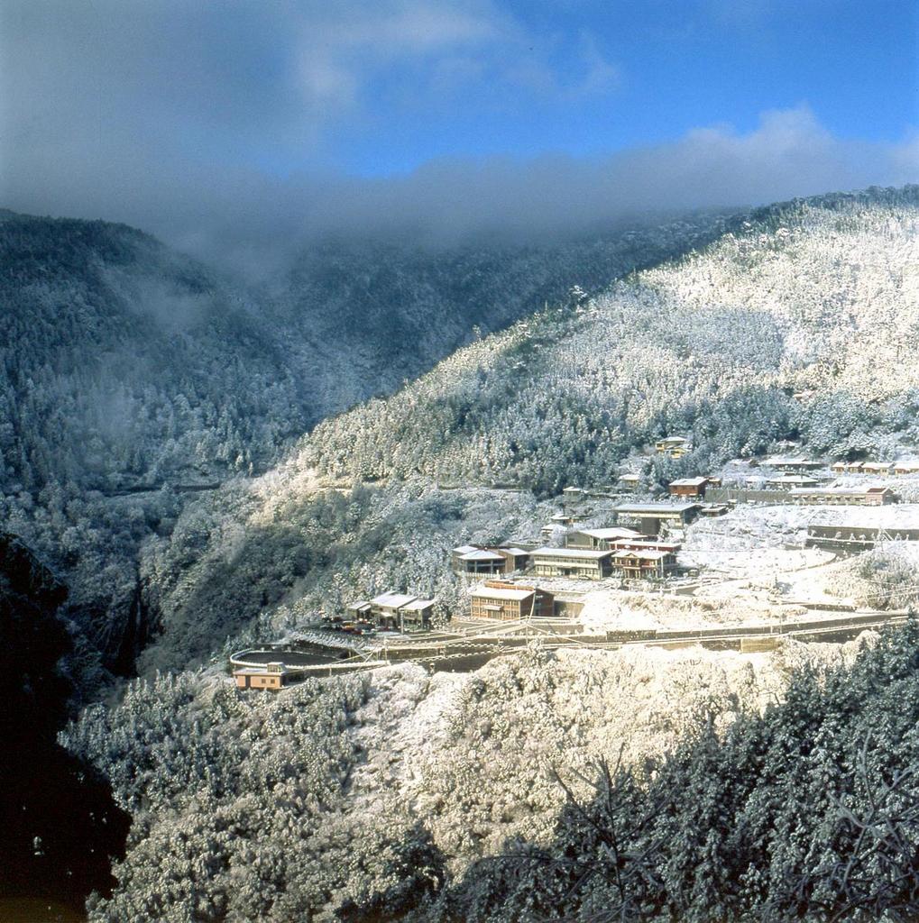 雪の風景 太平山国家森林遊楽区