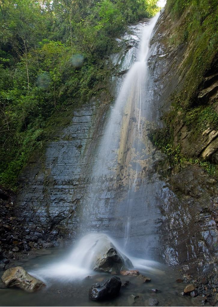 泰安温泉-瀑布