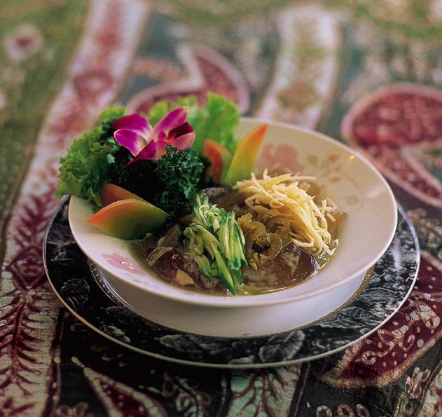 東埔温泉美食