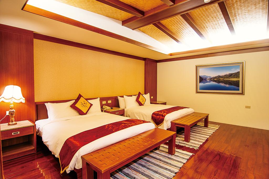 温泉ホテルの部屋内の施設