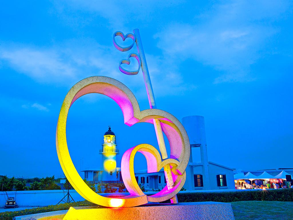 三貂角灯台の夜景