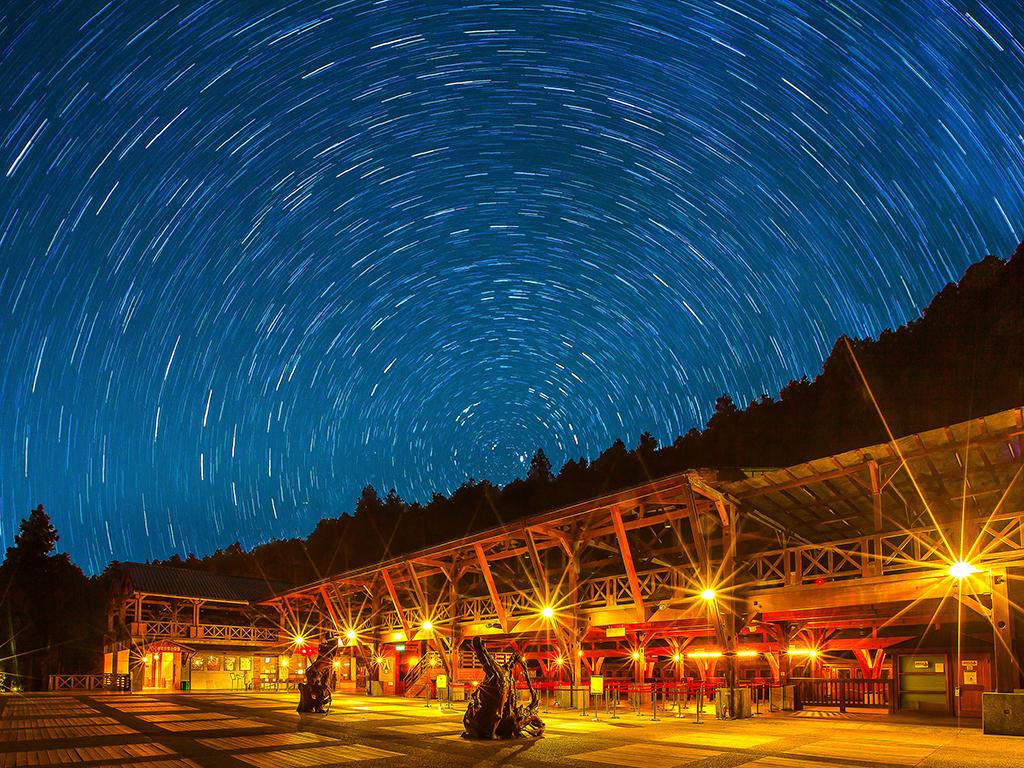 星の軌道の美