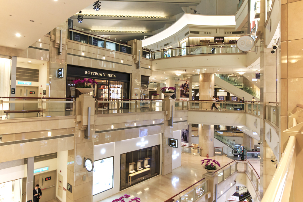 台北101ショッピングモール