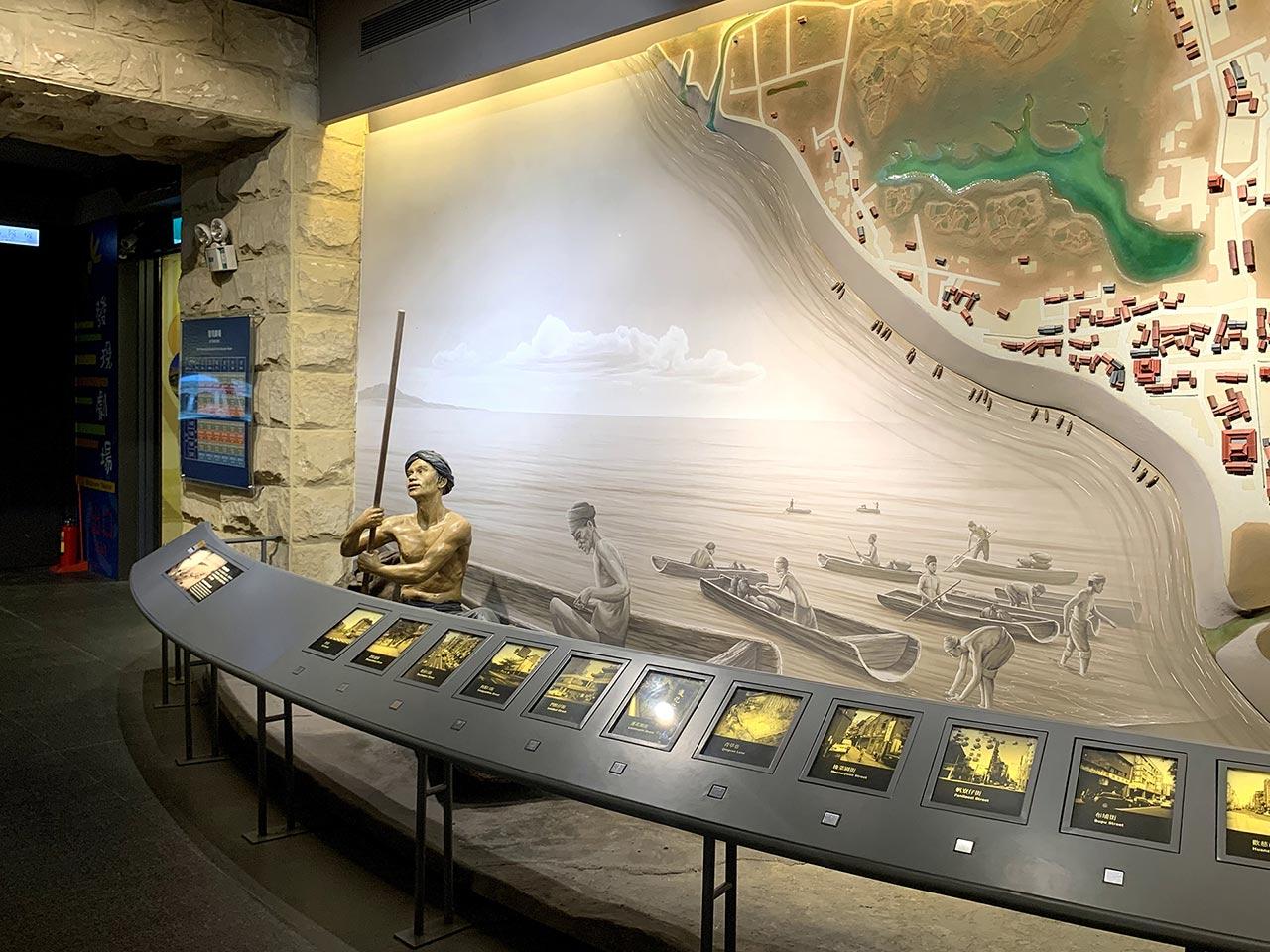 台北探索館の展示エリア