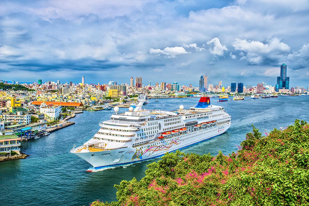 高雄港の美景