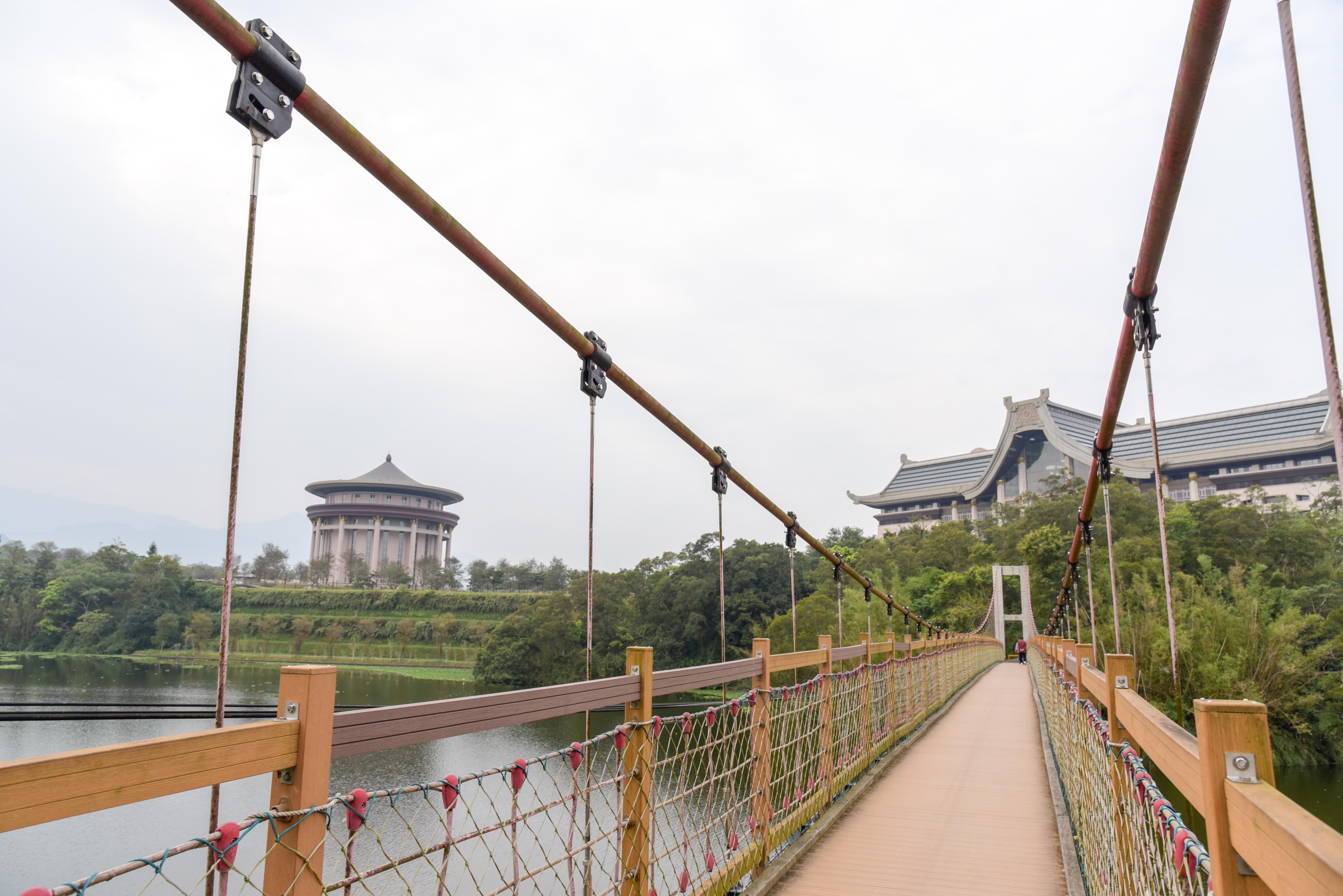 峨眉湖の細茅埔吊り橋