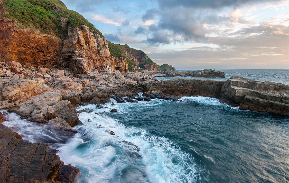 龍洞湾の風景