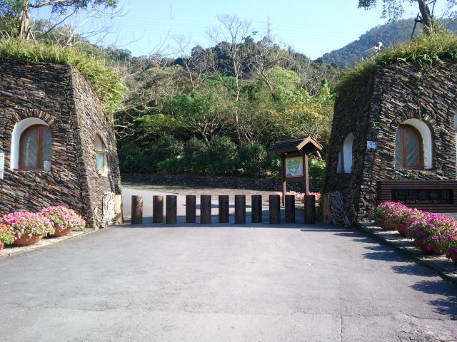 仁山植物園の入口