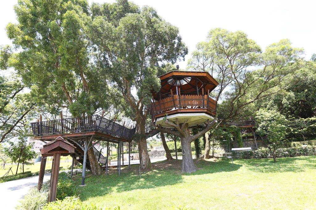 虎頭山公園-ツリーハウス
