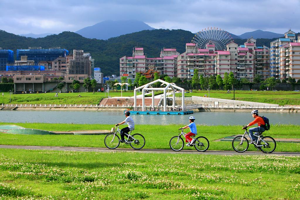 大佳河濱公園自転車道
