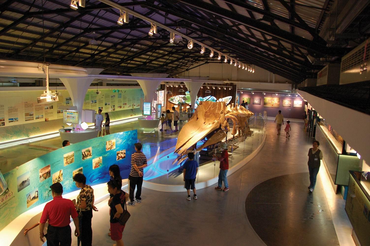 北門ビジターセンターの展示