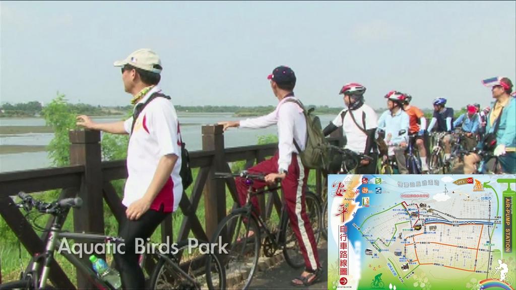 安平の自転車道