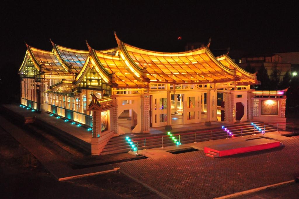 台湾ガラス館
