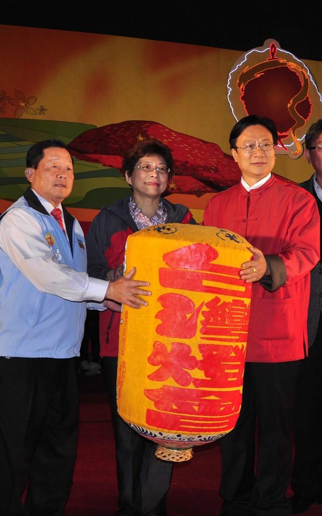 2012年台湾ランタンフェスティバル in 鹿港